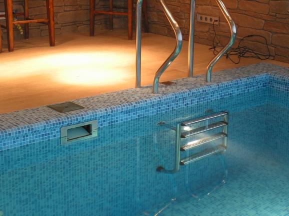 Встроенный скиммер для бассейна своими руками 15